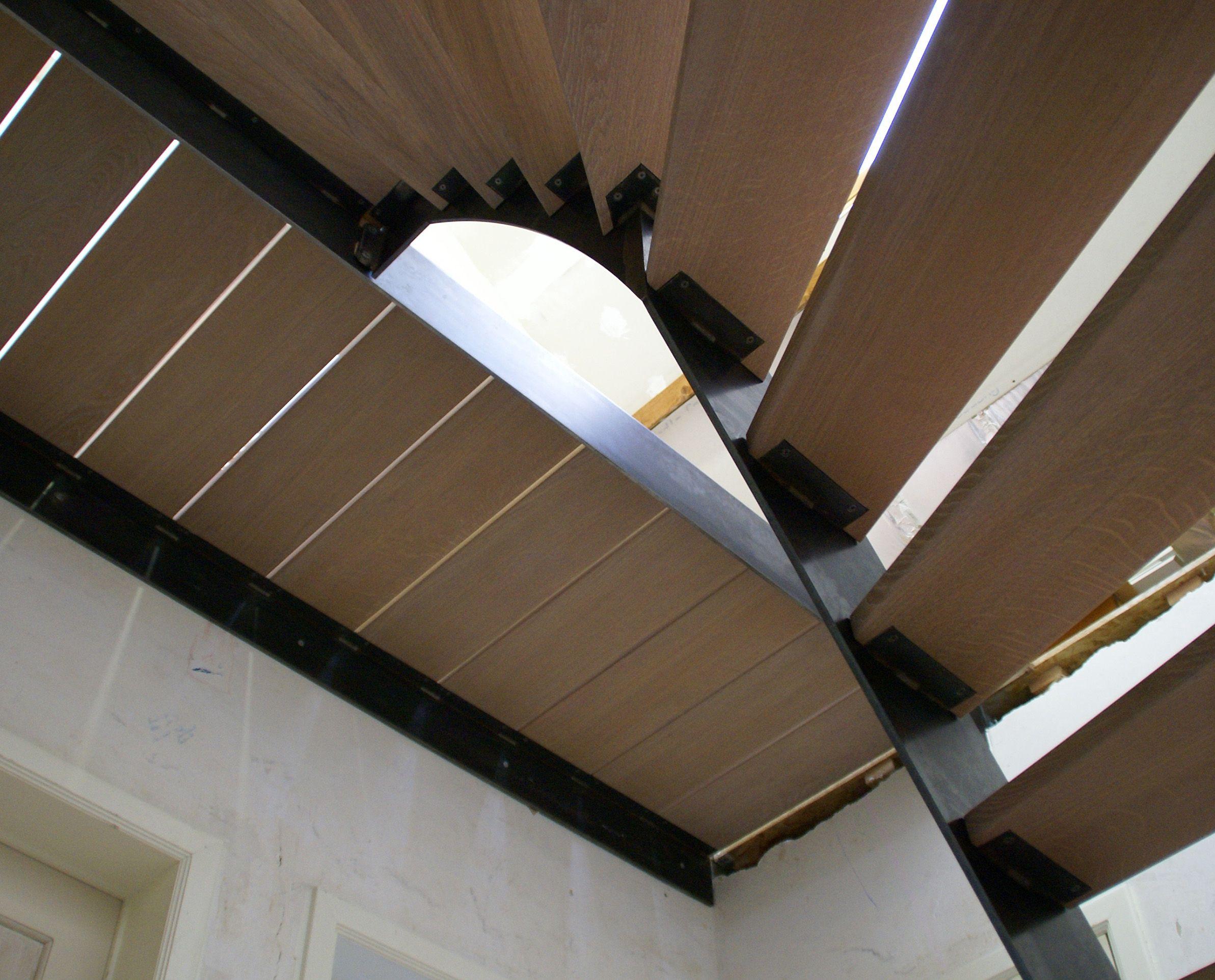 Metalen-trappen-Draaitrap